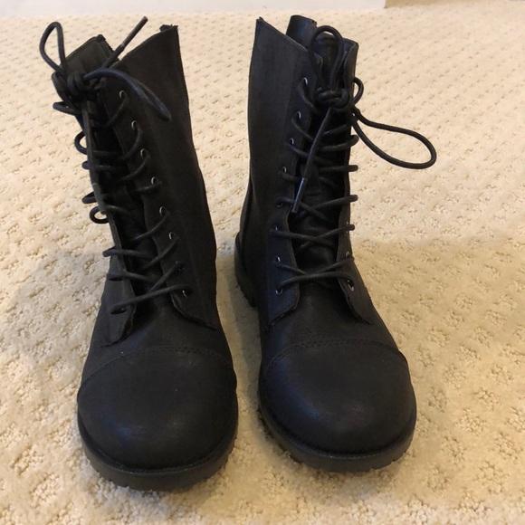 f0b281fd3 Cat & Jack Shoes | Girls Combat Boots | Poshmark
